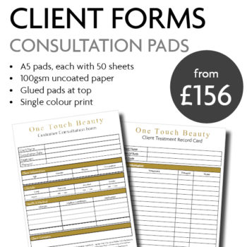 A5 Customer Pads