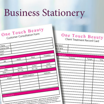 Business Stationery / Forms