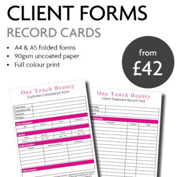 Client Consultation Forms